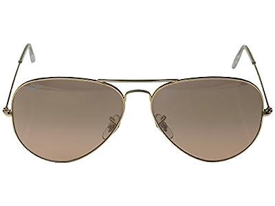 Ray-Ban Men's Aviator Large Metal Aviator Sunglasses