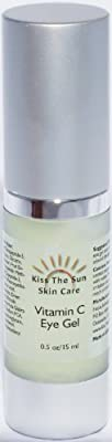 Best Cheap Deal for Vitamin C Eye Gel ~ Concentrated Formula for best results ~ Remove Puffiness and Dark Circles From Under Your Eyes with Vitamin E, Peptides and Amino Acids by Kiss The Sun - Free 2 Day Shipping Available