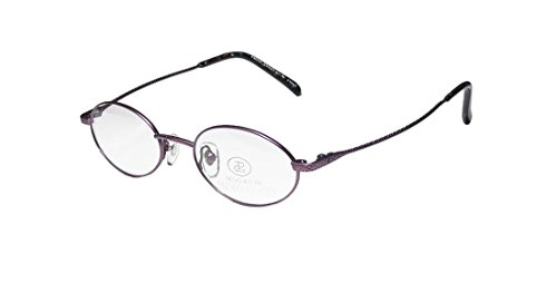 New & Season & Genuine - Brand: Paolo Gucci Style/model: 7442 Gender: Mens/Womens Optical Fashion Accessory Oval Full-rim Eyeglasses/Spectacles (48-20-140, Matte Purple) (Gucci Hair Brush compare prices)