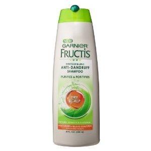 Garnier Fructis Haircare Anti-Dandruff Shampoo, Dry Scalp