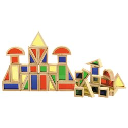 Buy Deluxe Rainbow Blocks ( 42 piece set)