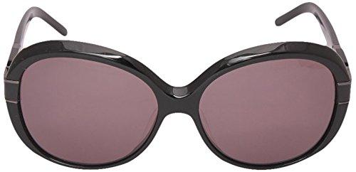 Givenchy Givenchy Oval Sunglasses (Black) (SGV-695|700|Medium)