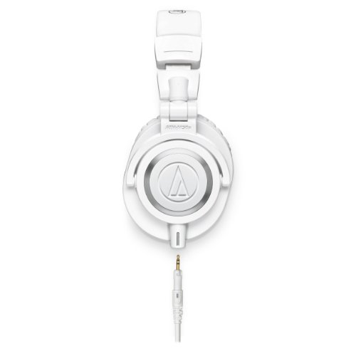 Audio-Technica Ath-M50Xwh Professional Headphones - White