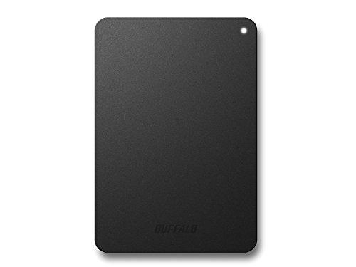 BUFFALO USB3.0接続 PC対応・TV録画対応 耐衝撃 フラットデザイン おでかけロック ポータブルHDD 3TB ブラック HD-PNF3.0U3-GB/N [フラストレーションフリーパッケージ(FFP)]