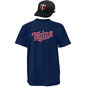 Minnesota Twins Combo MLB CAP & JERSEY Major League Baseball Licensed Replica... by Authentic Sports Shop