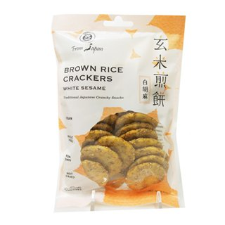 12-Pack-Japanese-Brown-Rice-Crackers-White-Sesame-Wheat-free-whole-grain-macrobiotic-and-vegan