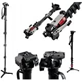 Manfrotto 560B-1 Fluid Video Monopod with Head