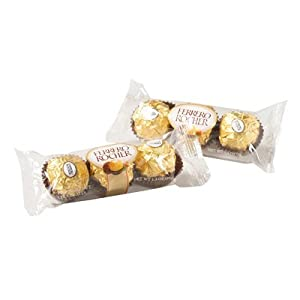 Ferrero Rocher 3 pc Pack: 12 Count