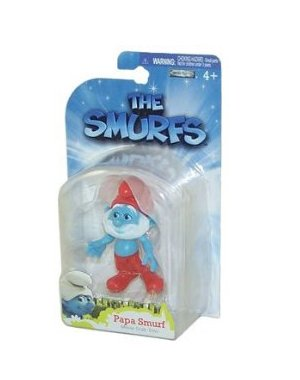 Picture of Jakks Pacific The Smurfs Movie Grab Ems Mini Figure Papa Smurf (B005FND10S) (Jakks Pacific Action Figures)