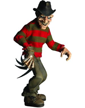 Buy Low Price Mezco Freddy Krueger Stylized Roto Figure (B004W2T2TW)
