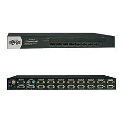 TRIPP LITE KVM Switch 16-Port 1U Rackmount USB/PS2 KVM Switch W/ On-Screen Display