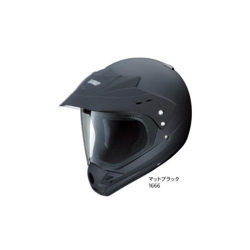 Yamaha YX-3 GIBSON XIII off-road helmet (clear shield) Matte Bla...