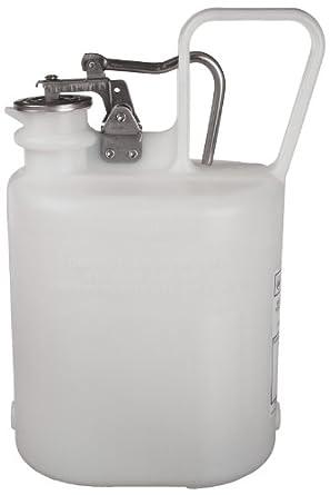 Justrite Polyethylene Self-Close Corrosive Container