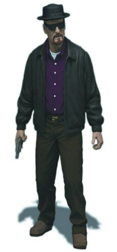 Mezco Toyz Breaking Bad Heisenberg Walter 6″ Action Figure