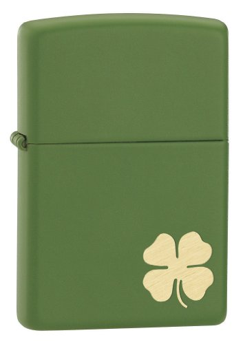 Zippo Shamrock Pocket Lighter