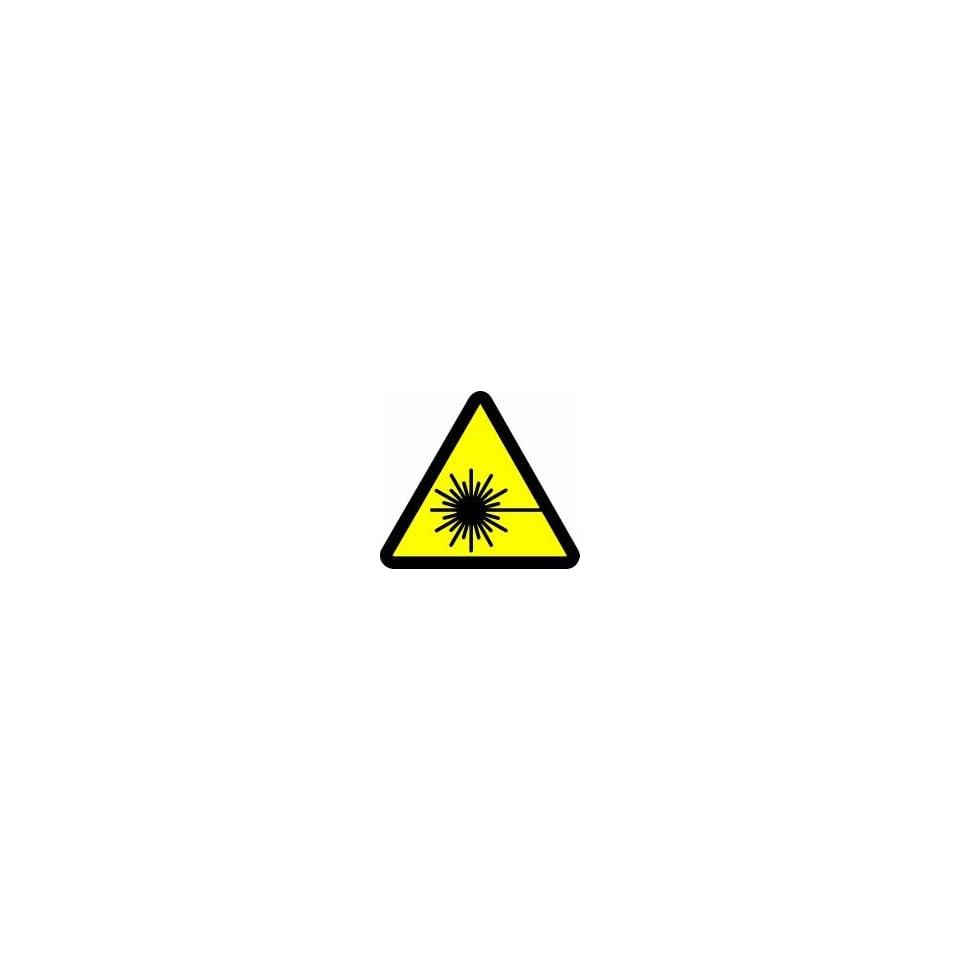 WARNING Labels LASER HAZARD 2 Adhesive Dura Vinyl