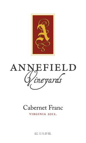 2012 Annefield Vineyards Cabernet Franc 750 Ml