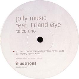 JOLLY MUSIC FEATURING ERLAND OYE - Talco Uno - Promo 1 - Maxi 45T