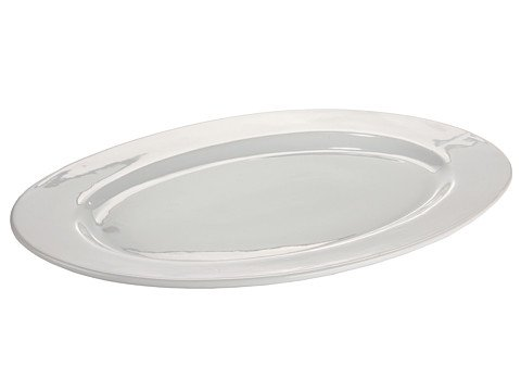Bia Cordon Bleu Porcelain 18-Inch Oval Serving / Fish Platter, White
