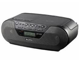Sony CFD-S07 AM/FM Radio Cassette Player CD-R/RW With MP3 Playback Bass Reflex Speaker System