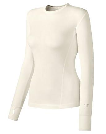 Buy Duofold Varitherm Long-Sleeve Crew Sweatshirt, Pearl, S by Duofold