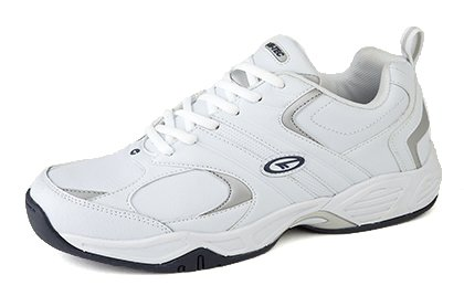 mens-hi-tec-argon-pu-leather-trainers-non-marking-sole-white-navy-size-16-uk