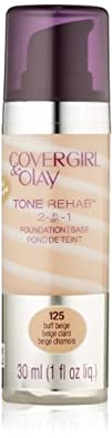 COVERGIRL and Olay Tonerehab 2-In-1 Foundation Buff Beige