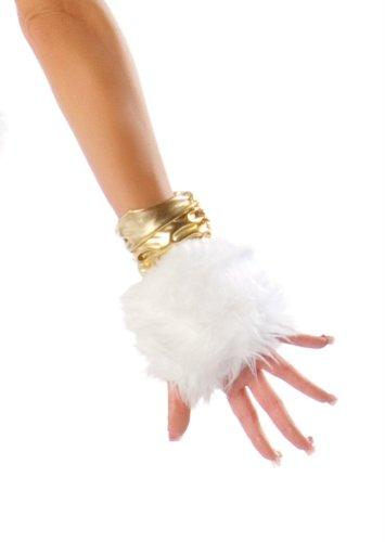Josie Stevens furry unicorn gogo dancer gloves(AS SHOWN,ONE SIZE)