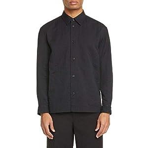 [イッセイミヤケ] メンズ シャツ Men Basics Double Face Cotton Shirt [並行輸入品]