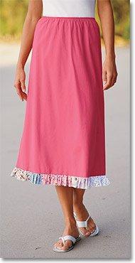 Patchwork Ruffle-Hem Skirt - Buy Patchwork Ruffle-Hem Skirt - Purchase Patchwork Ruffle-Hem Skirt (Orvis, Orvis Skirts, Orvis Womens Skirts, Apparel, Departments, Women, Skirts, Womens Skirts)
