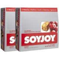 SOYJOY All Natural Fruit & Soy Bars, Berry, 2 pk