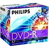 DVD-R Philips 4.7Go data 16x 1pk slim jewel case foil (DM4S6S10F/00)