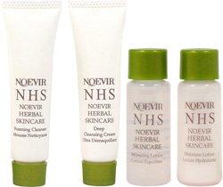 Noevir NHS Trial Deluxe Pack 4 Piece Set (Travel Sizes) from Noevir