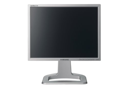 Samsung SM244T 24 inch WUGA TFT LCD Monitor 1000:1 400cd/m2 16ms 1920 x 1200 DVI (Silver)