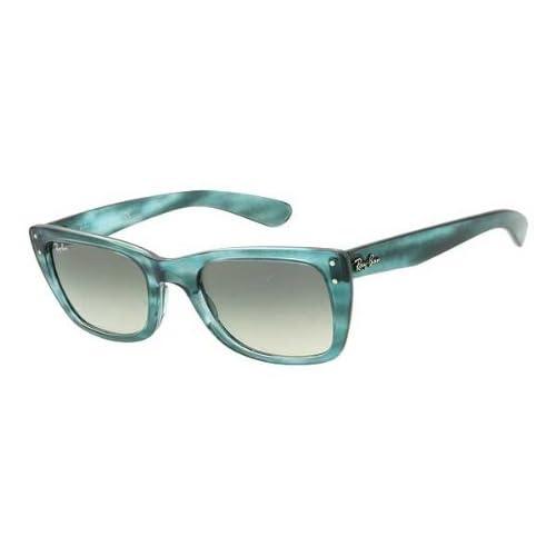 Amazon.com: Ray Ban RB4148 Caribbean Sunglasses-793/32 Azure Blue Gray