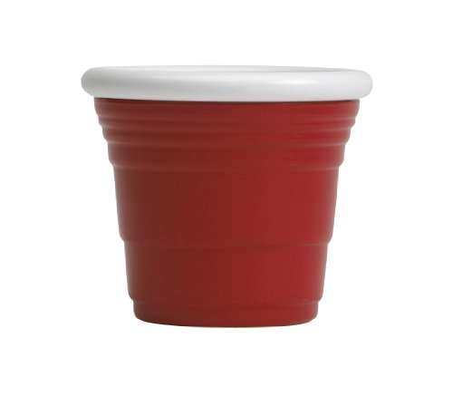 Red Cup Living Shooter Reusable Cup, 2-Ounce, Red
