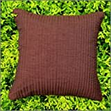 Cushion Casa Cushion Covers (Chocolate Brown)