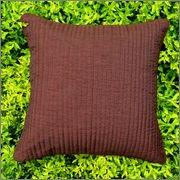 Cushion Casa Cushion Covers (Chocolate Brown)