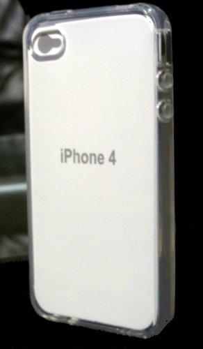 AEVI24 Apple iPhone 4S 4 4G Designer Crystal Case Schutzhülle Klar Hülle Etui Tasche Case Hard Cover Transparent (durchsichtig) TOP
