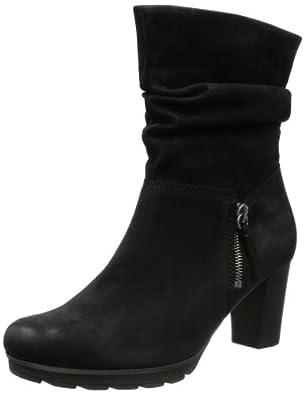 Gabor Shoes Comfort 72.884.47, Damen Stiefel, Schwarz (schwarz (Micro)), EU 44 (UK 9.5) (US 12)