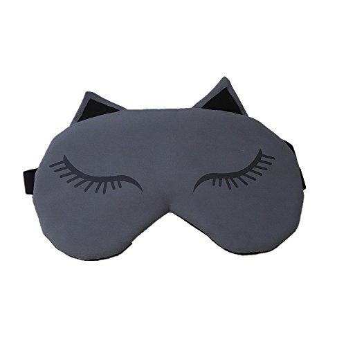 PowerLead Pmsk K001 Sleep Mask Soft Eye Mask Shades Allow Deep Relaxation & Improves Your Sleep Quality