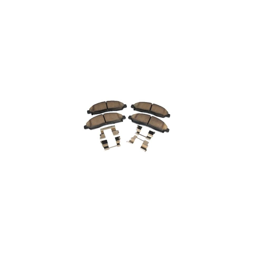 ACDelco 171 661 GM Original Equipment Front Disc Brake Pad Kit with Brake Pads and Clips