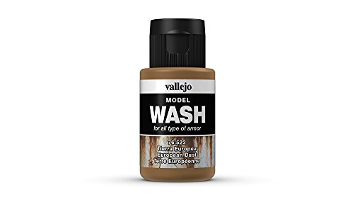 Vallejo European Dust Model Wash