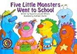 Five Little Monsters Went to School (Learn to Read, Read to Learn) (0613342100) by Williams, Rozanne Lanczak