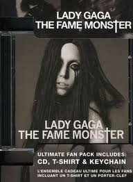 Lady GAGA ULTIMATE Fan Pack (T-shirt, Keychain and CD Fame Monster) in box set