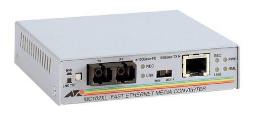 Allied Telesyn AT-MC102XL Fast Ethernet Media ConverterB00006RZ7N : image