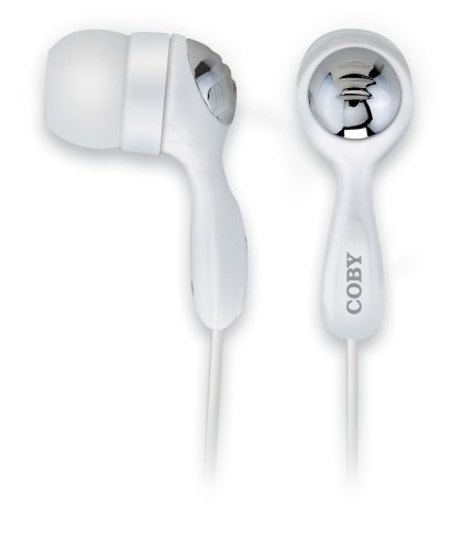 Coby Earphones CVE92 Isolation Stereo Ear Plugs