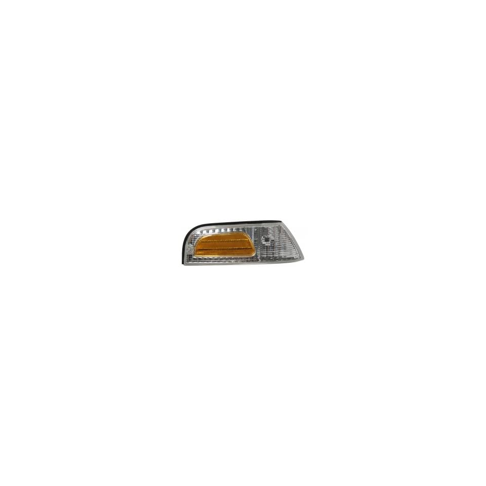 Sherman CCC548 120R Right Park Lamp Assembly 1998 2009 Ford Crown Victoria Excluding Police Model