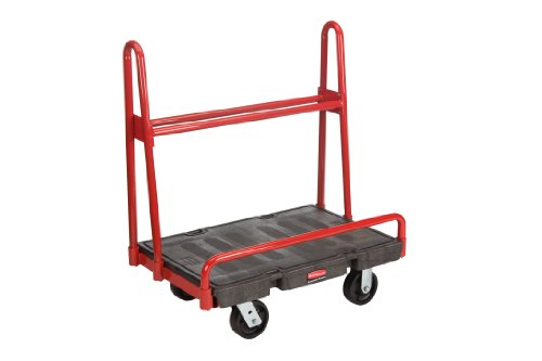 Rubbermaid Commercial FG446200 A-Frame Panel Platform Truck, 2000 lbs Capacity, 36