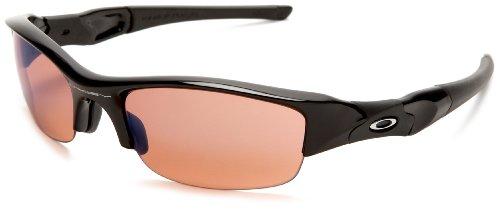 Oakley Men's Flak Jacket Iridium Golf Sunglasses